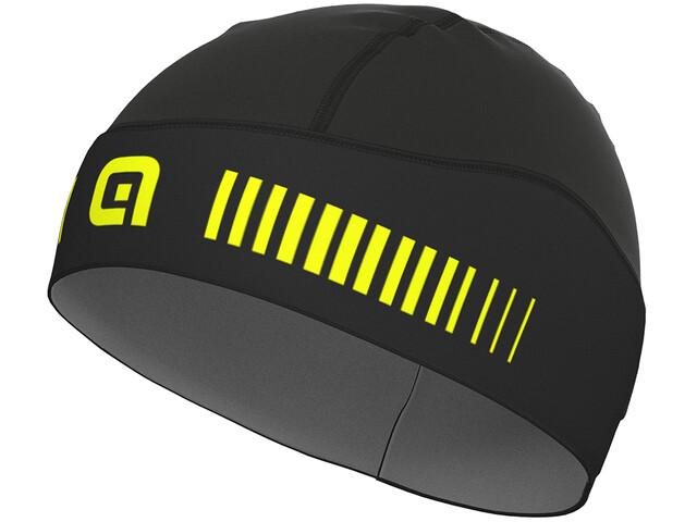 Alé Cycling Klima Gorro, black-fluo yellow
